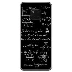 Funda Gel Tpu para Huawei Mate 20 Pro Diseño Formulas Dibujos