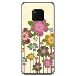 Funda Gel Tpu para Huawei Mate 20 Pro Diseño Primavera En Flor Dibujos
