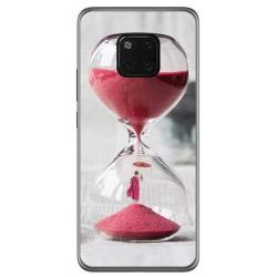Funda Gel Tpu para Huawei Mate 20 Pro Diseño Reloj Dibujos