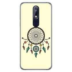 Funda Gel Tpu para Nokia 7.1 Diseño Atrapasueños Dibujos