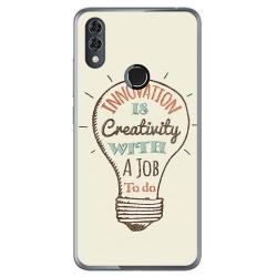 Funda Gel Tpu para Alcatel 5V Diseño Creativity Dibujos