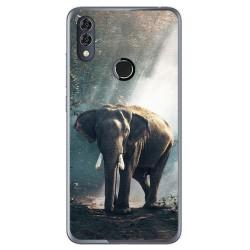 Funda Gel Tpu para Alcatel 5V Diseño Elefante Dibujos