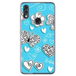 Funda Gel Tpu para Alcatel 5V Diseño Mariposas Dibujos