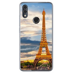 Funda Gel Tpu para Alcatel 5V Diseño Paris Dibujos