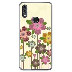 Funda Gel Tpu para Alcatel 5V Diseño Primavera En Flor Dibujos