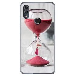 Funda Gel Tpu para Alcatel 5V Diseño Reloj Dibujos