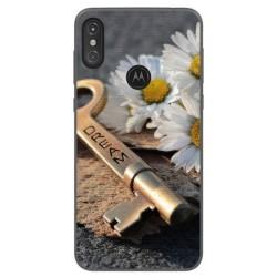 Funda Gel Tpu para Motorola One Diseño Dream Dibujos