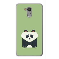 Funda Gel Tpu para Oukitel U15 / U15 Pro Diseño Panda Dibujos