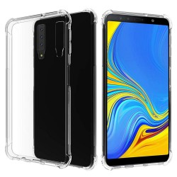 Funda Gel Tpu Anti-Shock Transparente para Samsung Galaxy A7 (2018)