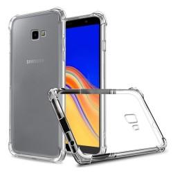 Funda Gel Tpu Anti-Shock Transparente para Samsung Galaxy J4+ Plus