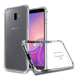 Funda Gel Tpu Anti-Shock Transparente para Samsung Galaxy J6+ Plus