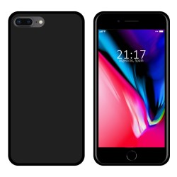 Funda Gel Tpu para Iphone 7 Plus / 8 Plus Color Negra