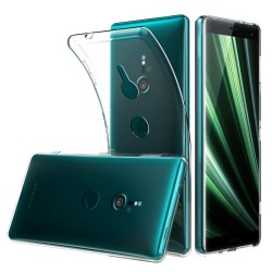 Funda Gel Tpu Fina Ultra-Thin 0,5mm Transparente para Sony Xperia XZ3