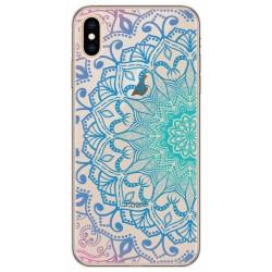Funda Gel Transparente para Huawei Honor 7C / Y7 2018 Diseño Mandala Dibujos
