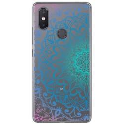 Funda Gel Transparente para Xiaomi Mi 8 Se Diseño Mandala Dibujos