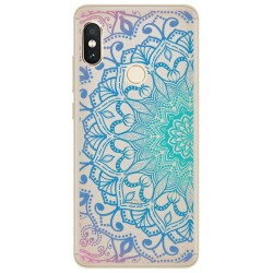 Funda Gel Transparente para Xiaomi Redmi Note 5 / Note 5 Pro Diseño Mandala Dibujos