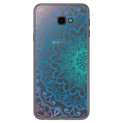 Funda Gel Transparente para Samsung Galaxy J4+ Plus Diseño Mandala Dibujos
