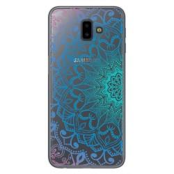 Funda Gel Transparente para Samsung Galaxy J6+ Plus Diseño Mandala Dibujos