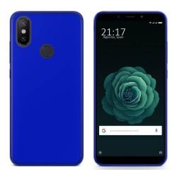 Funda Gel Tpu para Xiaomi Mi 6X / Mi A2 Color Azul