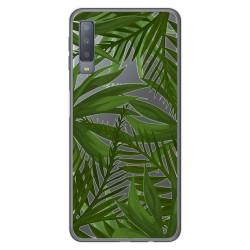 Funda Gel Transparente para Samsung Galaxy A7 (2018) diseño Jungla Dibujos