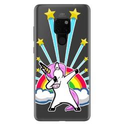 Funda Gel Transparente para Huawei Mate 20 Diseño Unicornio Dibujos
