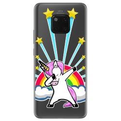 Funda Gel Transparente para Huawei Mate 20 Pro diseño Unicornio Dibujos