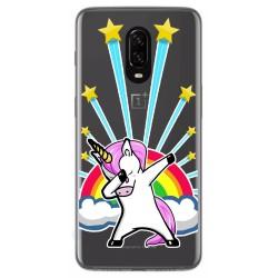 Funda Gel Transparente para Oneplus 6T diseño Unicornio Dibujos