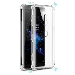 Funda Gel Tpu Anti-Shock Transparente para Sony Xperia XZ3