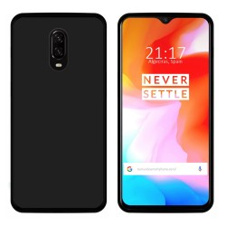 Funda Gel Tpu para Oneplus 6T Color Negra