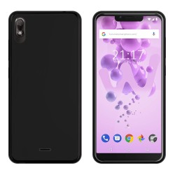 Funda Gel Tpu para Wiko View2 Go Color Negra