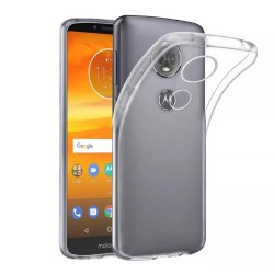 Funda Gel Tpu Fina Ultra-Thin 0,5mm Transparente para Motorola Moto E5 Play