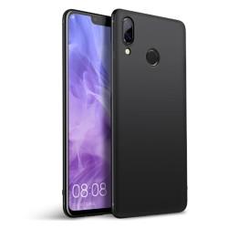 Funda Gel Tpu Tipo Mate Negra para Huawei Honor 8X