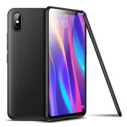 Funda Gel Tpu Tipo Mate Negra para Xiaomi Mi 8 Pro