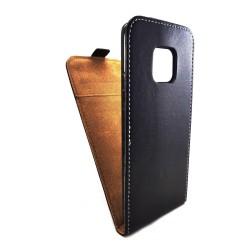 Funda Piel Premium Negra Ultra-Slim para Xiaomi Huawei Mate 20 Pro