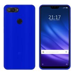Funda Gel Tpu para Xiaomi Mi 8 Lite Color Azul