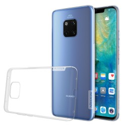 Funda Gel Tpu Nillkin Nature para Huawei Mate 20 Pro Color Transparente