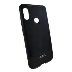 Funda Cristal Templado para Xiaomi Mi A2 Lite / Redmi 6 Pro Color Negra Glass