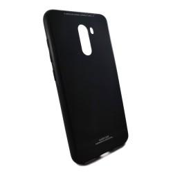 Funda Cristal Templado para Xiaomi Pocophone F1 Color Negra Glass