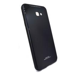 Funda Cristal Templado para Samsung Galaxy J4+ Plus Color Negra Glass
