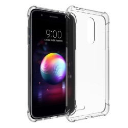 Funda Gel Tpu Anti-Shock Transparente para Lg K11