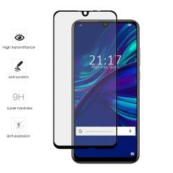 Protector Cristal Templado Frontal Completo Negro para Huawei P Smart 2019 / Honor 10 Lite Vidrio