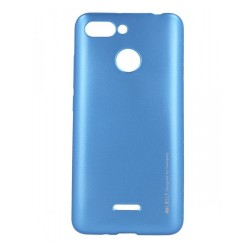 Funda Gel Tpu Mercury i-Jelly Metal para Xiaomi Redmi 6 color Azul