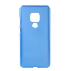 Funda Gel Tpu Mercury i-Jelly Metal para Huawei Mate 20 color Azul