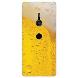 Funda Gel Tpu para Sony Xperia XZ3 Diseño Cerveza Dibujos