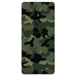 Funda Gel Tpu para Sony Xperia XZ3 Diseño Camuflaje Dibujos