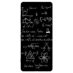 Funda Gel Tpu para Sony Xperia XZ3 Diseño Formulas Dibujos