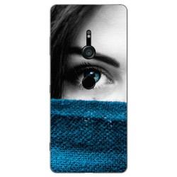 Funda Gel Tpu para Sony Xperia XZ3 Diseño Ojo Dibujos