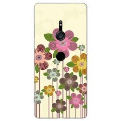 Funda Gel Tpu para Sony Xperia XZ3 Diseño Primavera En Flor Dibujos