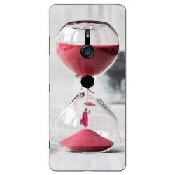Funda Gel Tpu para Sony Xperia XZ3 Diseño Reloj Dibujos