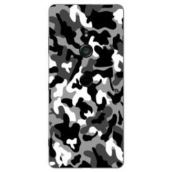 Funda Gel Tpu para Sony Xperia XZ3 Diseño Snow Camuflaje Dibujos